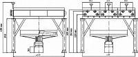 Apparatuses for air cooling of horizontal type 2 ACH